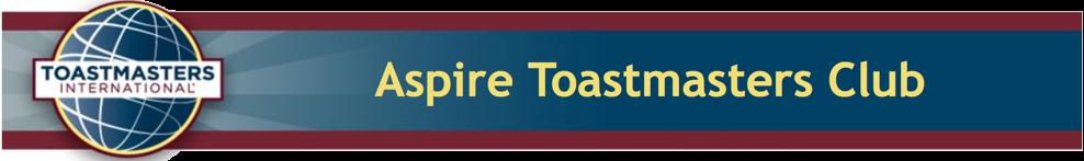 Aspire Toastmasters
